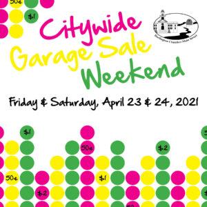 city wide Spring Garage Sale 21'